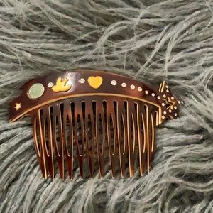 Marc by Marc Jacobs  hair comb handmade in France